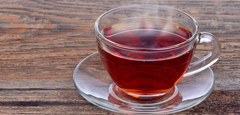 El te rojo ayuda a liberar líquidos