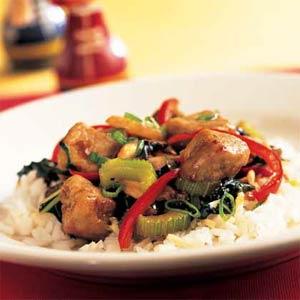 Receta de chop suey chino de vegetales