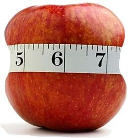 manzana-centimetro
