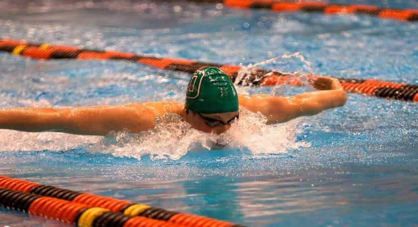 Nadar para adelgazar en un día