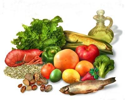 alimentos de la dieta mediterranea