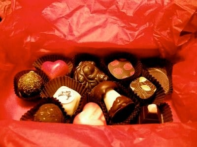 Chocolates con chile