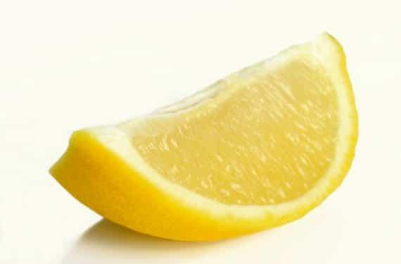Gajo de un limón