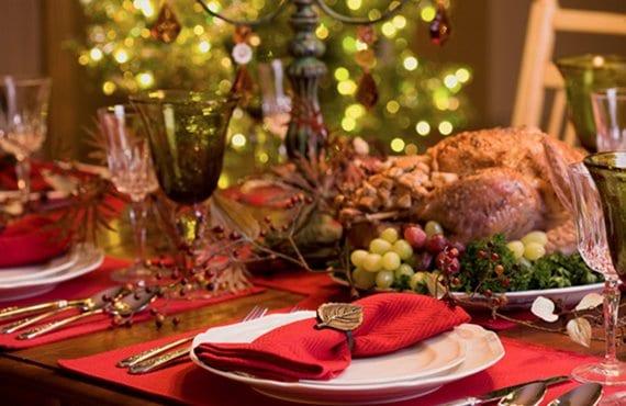 Mesa de Nochebuena