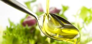 Cucharada de aceite de oliva