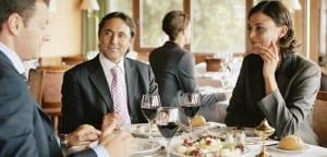 Reunión en restaurante