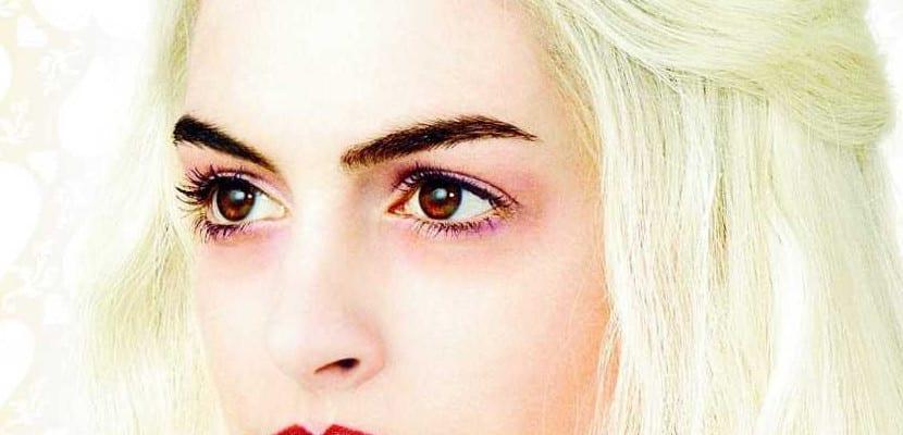Ojos de Anne Hathaway