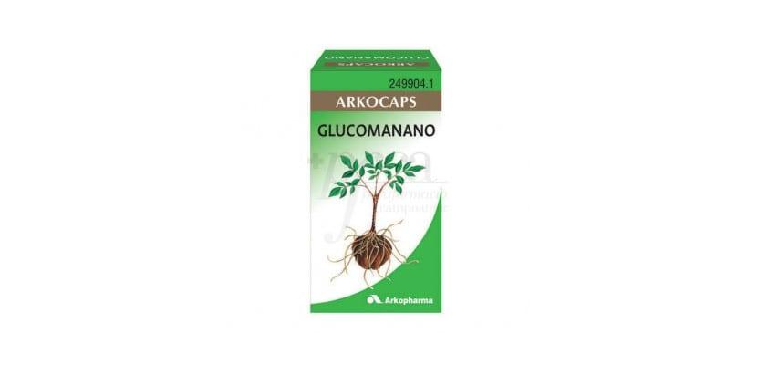 Cápsulas de glucomanano