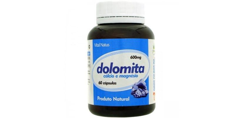 Cápsulas de dolomita