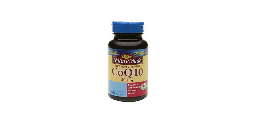 Suplementos de coenzima Q10