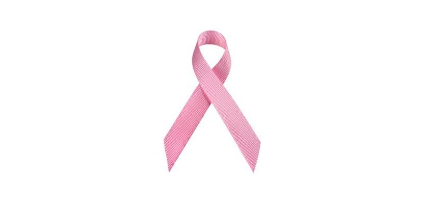 Lazo rosa del cáncer de mama