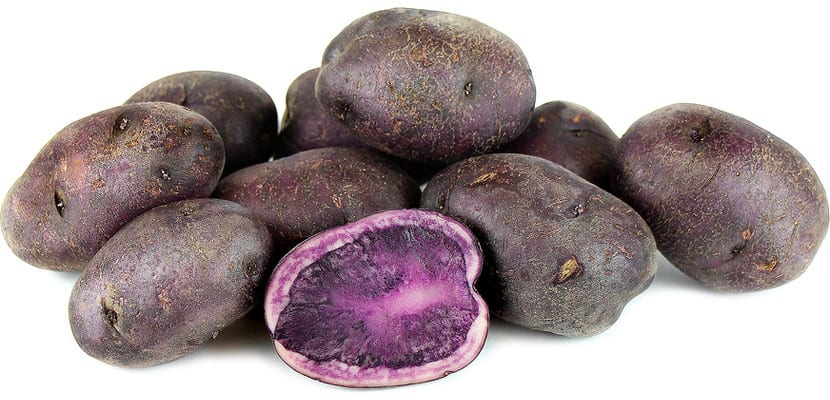 Patata púrpura