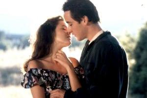 Beso de la película 'Un gran amor'