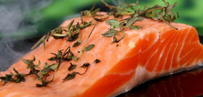 taco de salmón