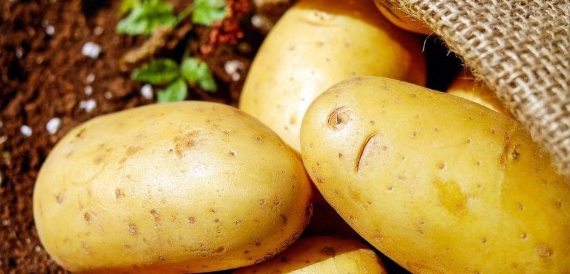 tres patatas