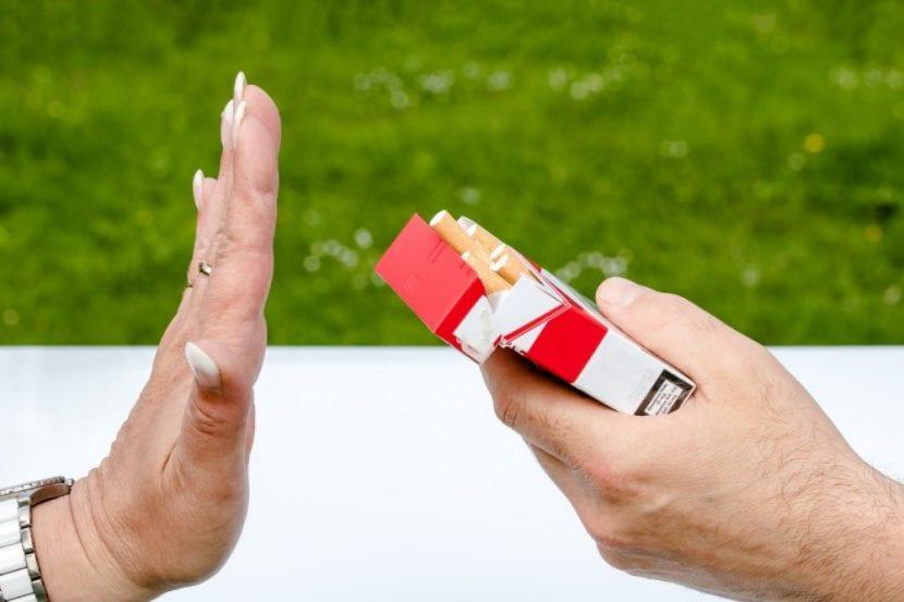 decir que no al tabaco