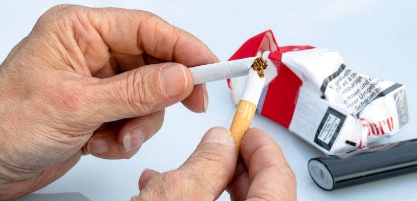 romper un cigarro