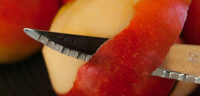 Piel de la manzana