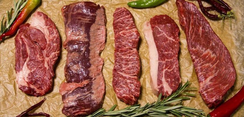 carne roja de ternera