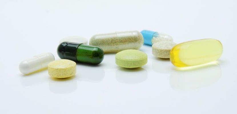 cápsulas y pastillas