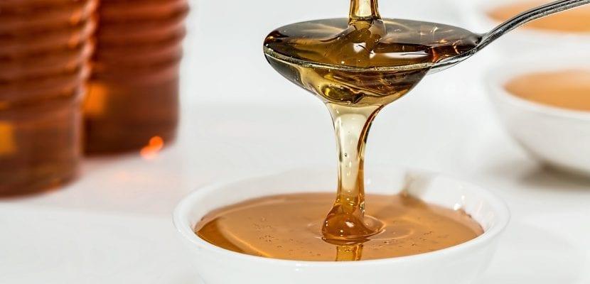 cucharada de miel