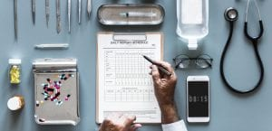 escritorio médico