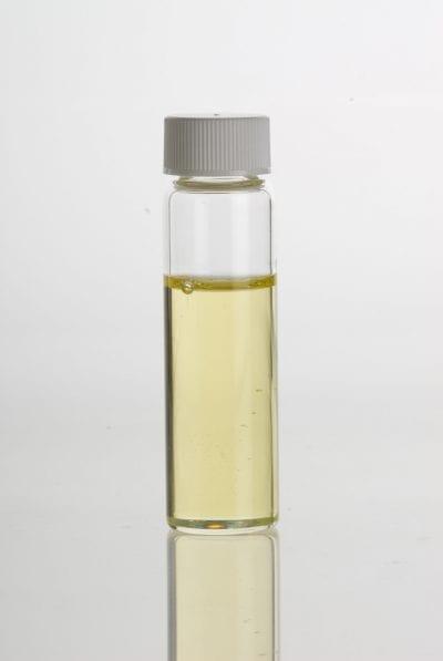 Frasco de aceite de sésamo