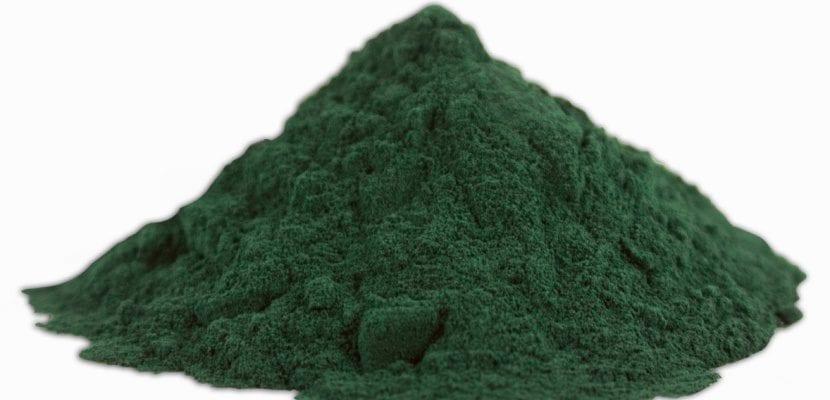 montaña de alga