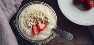 yogur para desayuno